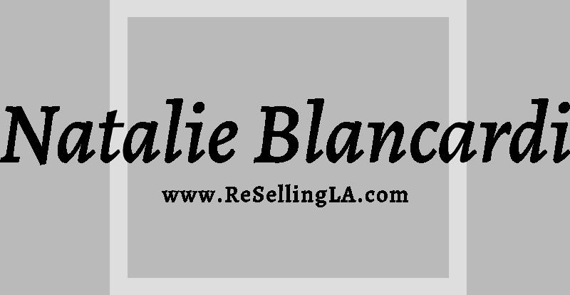 Natalie Blancardi ReSellingLA Logo