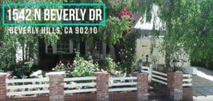 1542 N Beverly Drive, Beverly Hills, CA 90210