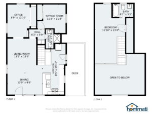 3971 Oeste Ave, Studio City - Floor Plan